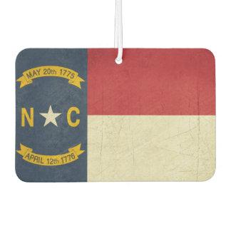 Grunge illustration of North Carolina Car Air Freshener