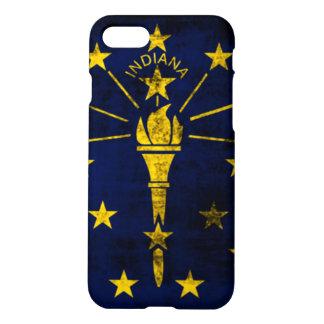 Grunge Indiana Flag iPhone 7 Case