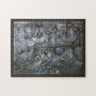 Grunge Iron Heavy Metal Jigsaw Puzzle