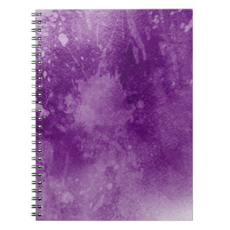 Grunge Journal Notebook Splatters