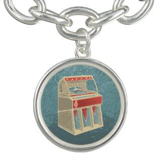 Grunge Jukebox Charm Bracelet