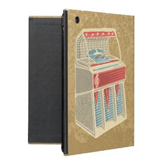 Grunge Jukebox iPad Folio Cover