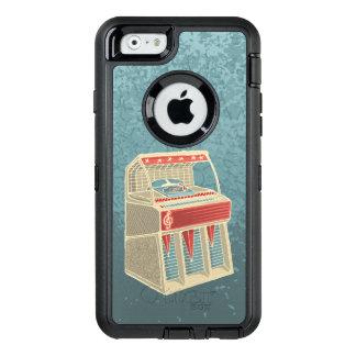 Grunge Jukebox OtterBox iPhone 6/6s Case