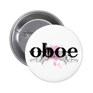 Grunge look Oboe Button