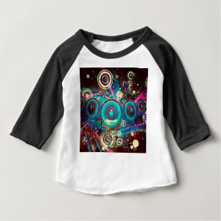 Grunge Loud Speakers 2 Baby T-Shirt
