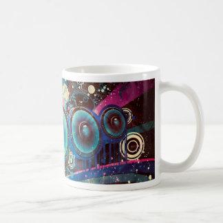 Grunge Loud Speakers 2 Coffee Mug