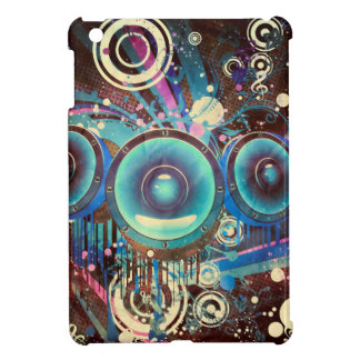 Grunge Loud Speakers 2 Cover For The iPad Mini