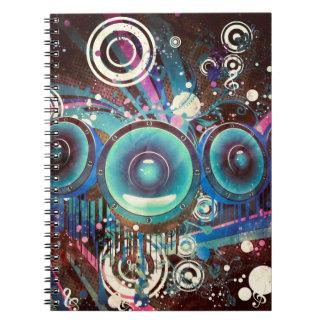 Grunge Loud Speakers 2 Notebook