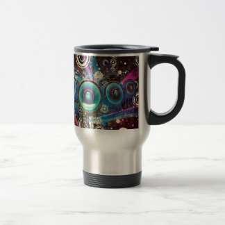 Grunge Loud Speakers 2 Travel Mug
