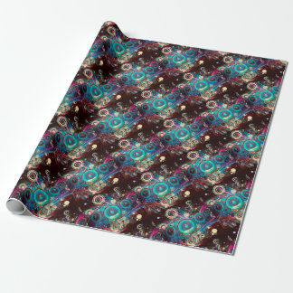 Grunge Loud Speakers 2 Wrapping Paper