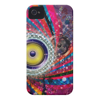 Grunge Loud Speakers Case-Mate iPhone 4 Cases