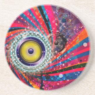 Grunge Loud Speakers Coaster