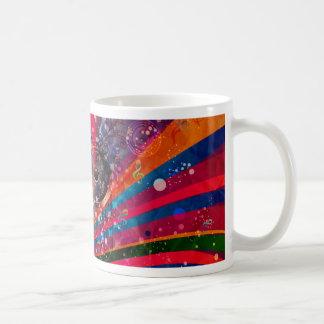 Grunge Loud Speakers Coffee Mug