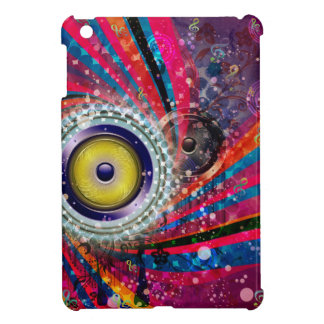 Grunge Loud Speakers iPad Mini Cases