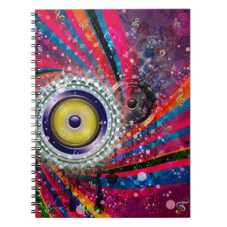 Grunge Loud Speakers Notebooks
