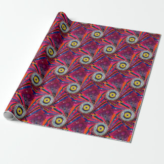 Grunge Loud Speakers Wrapping Paper