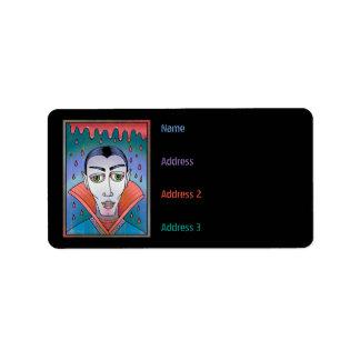 Grunge Mad For Vlad Vampire Label