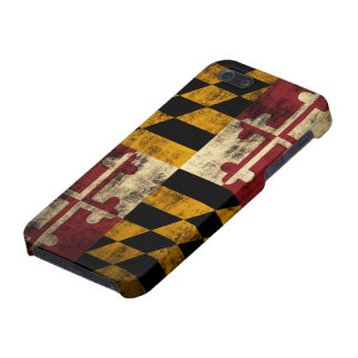 Grunge Maryland Flag iPhone 5 Covers
