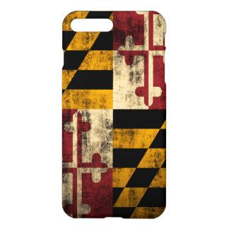 Grunge Maryland Flag iPhone 8 Plus/7 Plus Case