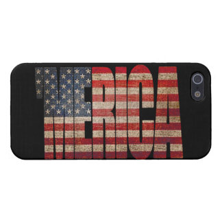 Grunge 'MERICA U.S. Flag iPhone 5 Case