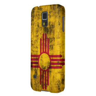 Grunge New Mexico Flag Case For Galaxy S5