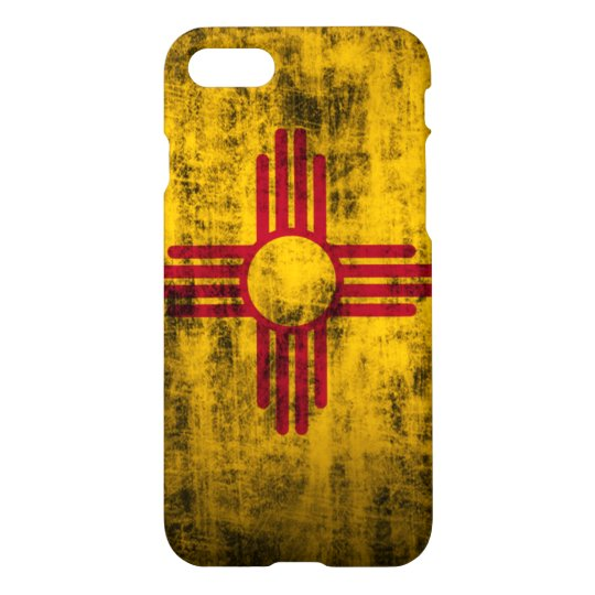 Grunge New Mexico Flag iPhone 7 Case