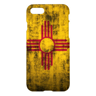 Grunge New Mexico Flag iPhone 8/7 Case