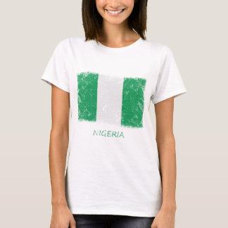 Grunge Nigeria Flag T-Shirt