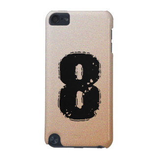 GRUNGE NUMBER 8 iPod TOUCH 5G COVER
