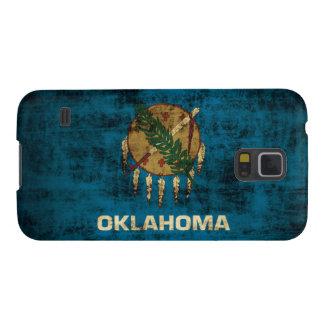 Grunge Oklahoma Flag Galaxy S5 Cases