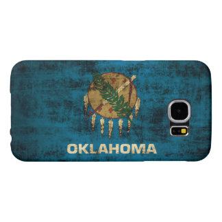 Grunge Oklahoma Flag Samsung Galaxy S6 Cases