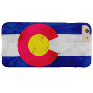 Grunge Patriotic Colorado State Flag Barely There iPhone 6 Plus Case