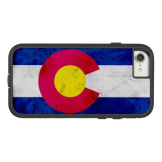 Grunge Patriotic Colorado State Flag Case-Mate Tough Extreme iPhone 8/7 Case