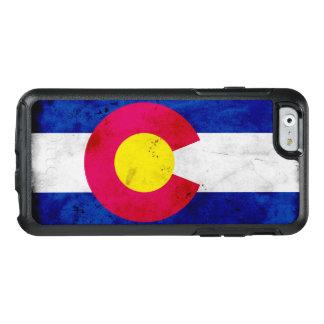 Grunge Patriotic Colorado State Flag OtterBox iPhone 6/6s Case