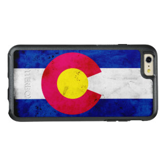 Grunge Patriotic Colorado State Flag OtterBox iPhone 6/6s Plus Case