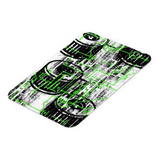 Grunge Pattern 65 Magnets