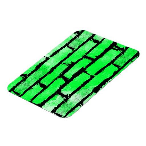 Grunge Pattern 98 Rectangular Magnet