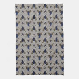 Grunge Pattern Kitchen Towel