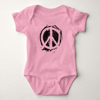 Grunge Peace Symbol T Shirt