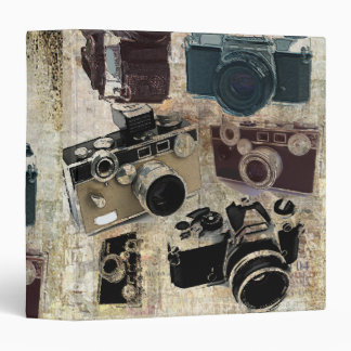 Grunge photographer photography Vintage Camera Binders