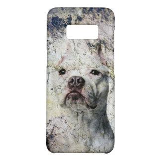 Grunge Pitbull terrier Case-Mate Samsung Galaxy S8 Case