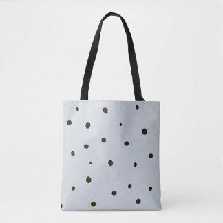 Grunge Polka dot pattern Tote Bag