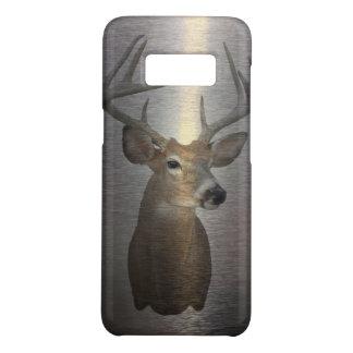 Grunge Primitive buck white tail deer Case-Mate Samsung Galaxy S8 Case