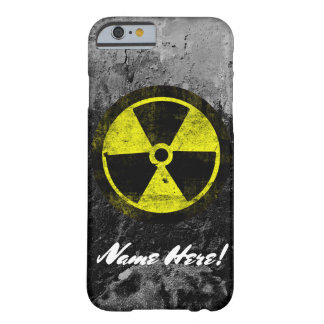 Grunge Radioactive Symbol Cool Vintage Mens Guys Barely There iPhone 6 Case