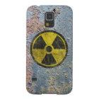 Grunge Radioactive Symbol Galaxy S5 Cover