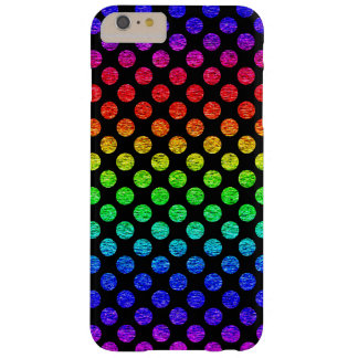 Grunge Rainbow Polka Dot iPhone 7 Case