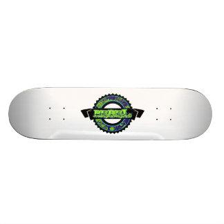Grunge Rebel Banner Custom Skateboard