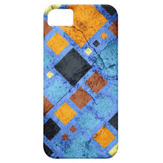 Grunge Retro Modern Squares Pattern iPhone 5 Covers