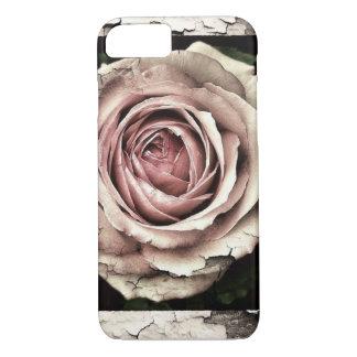 Grunge rose phone case