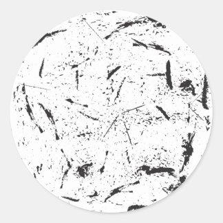 Grunge Rounde Sticker